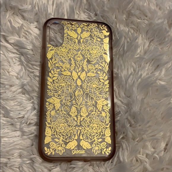 Sonix gold flower iphone xs iphone case